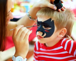 face-paint